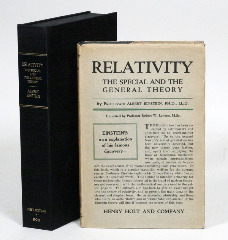 Relativity: The Special and General Theory. ALBERT EINSTEIN.