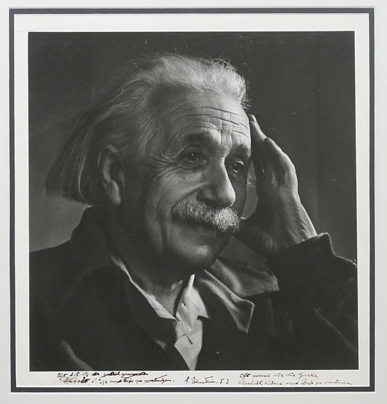 Original Signed Silver Print Photograph by Yousuf Karsh