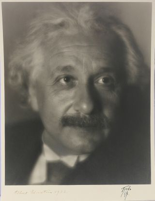 Photograph Signed. ALBERT EINSTEIN